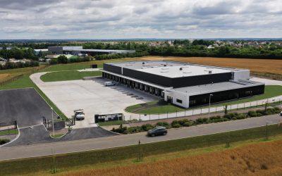 Livraison de la messagerie XPO Logistics à Caen