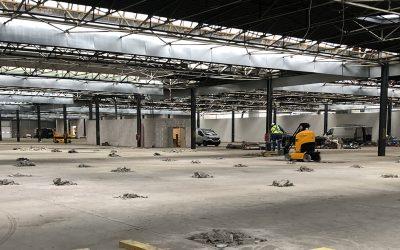 Réindustrialisation d'une usine de 25.000m² pour le compte de M3 SANITRADE.